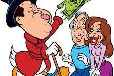 rico con dinero